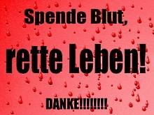Aufruf zur Blutspende - © Rike / pixelio.de