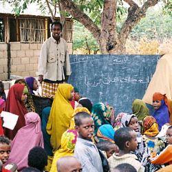 Schule in Dadaab